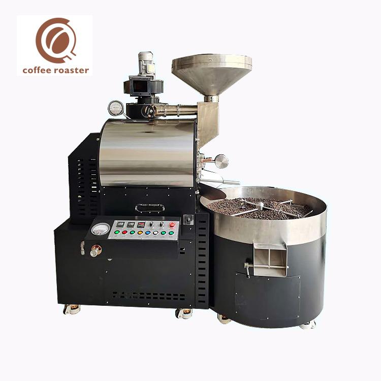 Röstmaschinenkaffee 15Kg Batch Gas Industry Coffee Roaster